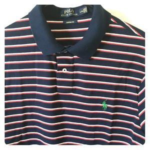 Polo Ralph Lauren, striped. Size large.
